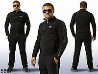 Черный теплый мужской спортивный костюм Аристарх