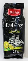Черный чай Bastek с лимоном и бергамотом, 125 г