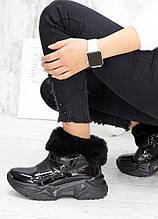 Спортивные ботинки Zig Zag лак-кожа 7587-28