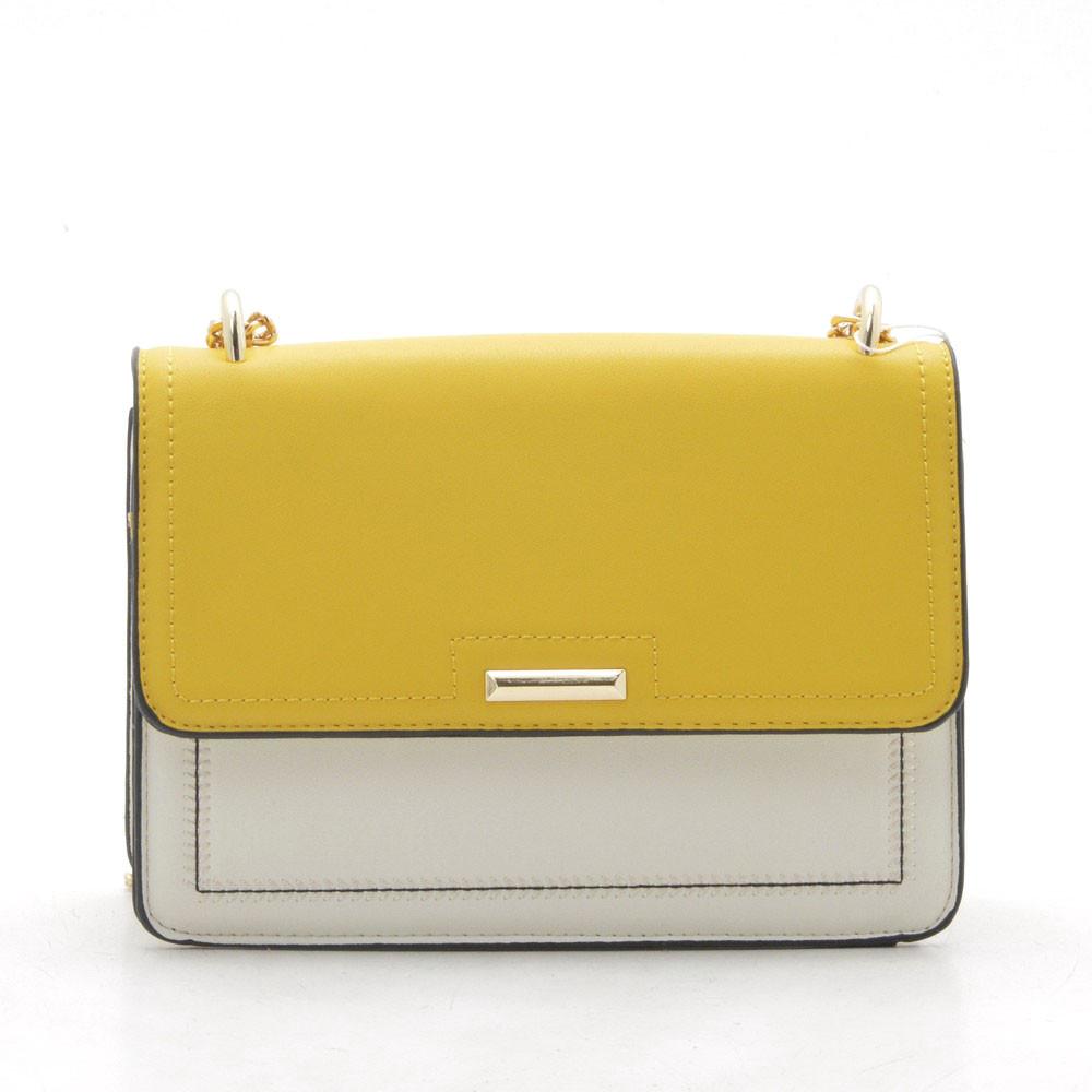 Клатч H6639 beige/yellow