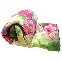 Одеяло Lotus flower холлофайбер 200/220 розовое пионы