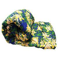 Одеяло Lotus flower холлофайбер 200/220 синяя лилии