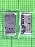 Коннектор SIM Nomi i245, карты памяти Оригинал
