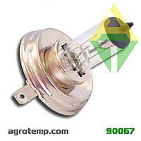 Лампа автомобільної фари Н4 24В, 60/65Вт P45t