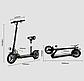 Електросамокат з сидінням JOYOR X3S 40 км/год 400 Вт 13 AH Навантаження 140 кг ГАРАНТІЯ, фото 5