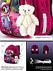 Ортопедический школьный рюкзак для девочки каркасный в 1-3 класс с пеналом и сумкой для сменки Winner One 5001, фото 5