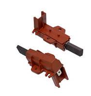 Щетки электродвигателя в корпусе для стиральной машины Ariston, Indesit C00196544, (5*12,5)