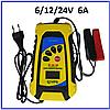 Автоматическое ЗУ для аккумулятора 6V/12V24V 20 - 60Ah Katbo KTB-BC1803