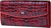 Женский кожаный кошелёк Wanlima w82042840835b1 Red, фото 1