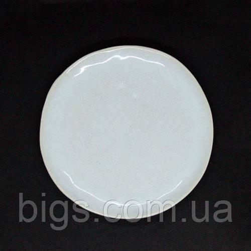 Тарелка Кения круглая размер 20,5х2,5 см  JM1004W