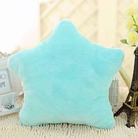 Светящаяся подушка Звезда  (голубой)