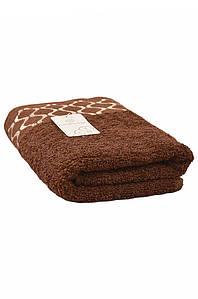 Полотенце для лица коричневое AAA 129763P