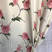 Готовые шторы с цветочным принтом для спальни зала комнаты, атласные шторы для спальни детской хола, шторы для, фото 2