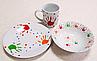 Тарелка мелкая десертная Milika Baby Handprint M0670-TH5938 (17,5см), фото 2