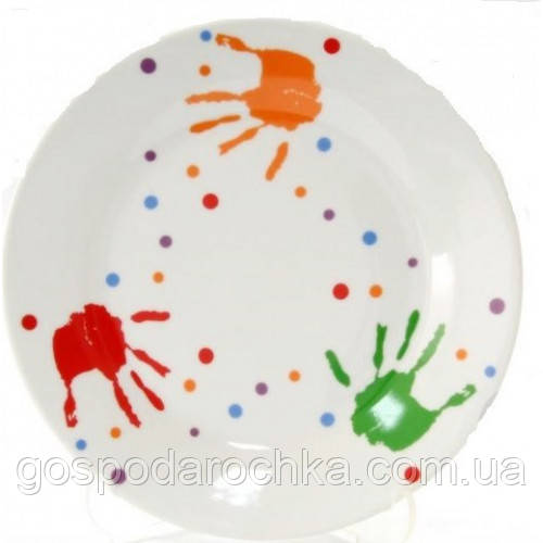 Тарелка мелкая десертная Milika Baby Handprint M0670-TH5938 (17,5см)