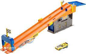 Mattel Ігровий набір Гараж на даху Hot Wheels DRB29 . Оригінал