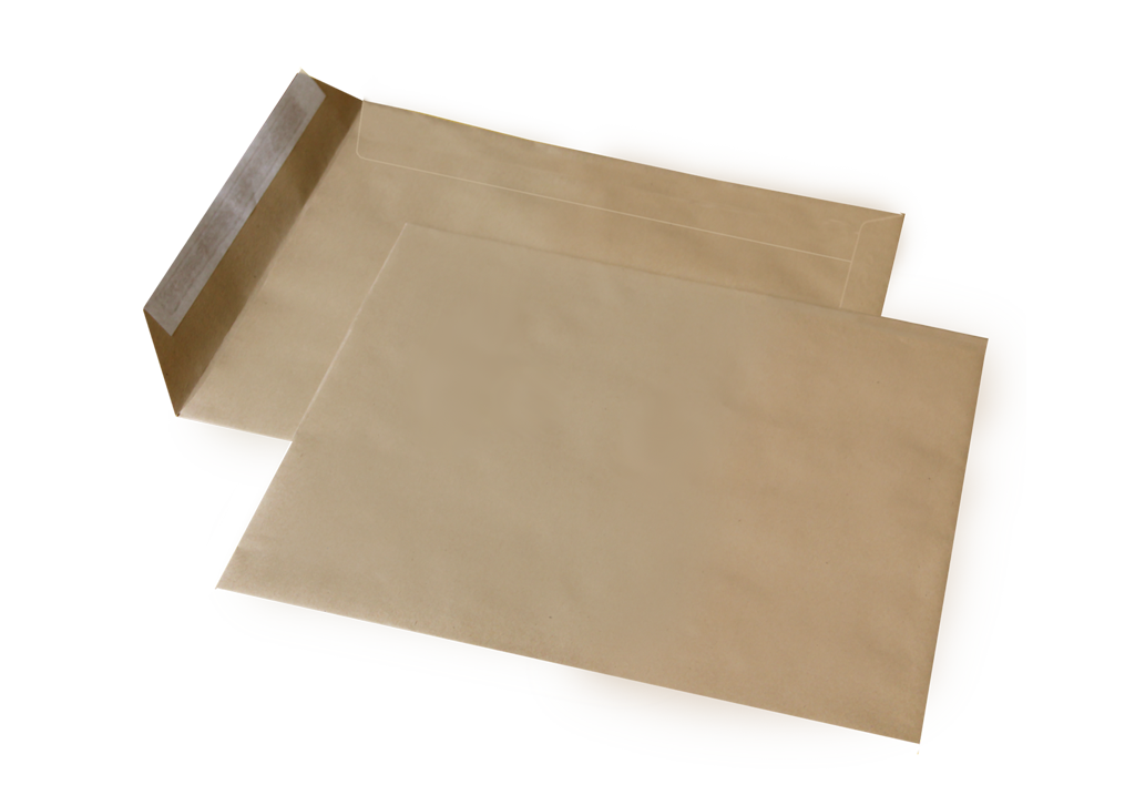 Конверт пакет С5 (0+0) крафт СКЛ (500 шт. в уп.)