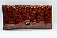 Жіночий шкіряний гаманець Wanlima 71041560014b1 Coffee, фото 1