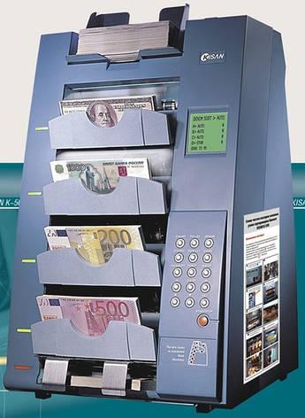 KISAN K-500 PRO Сортировщик банкнот на 5 карманов, фото 2