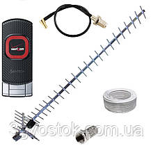 3G модем Pantech UML290 + антенна 24 дБ (дБи) + переходник + кабель