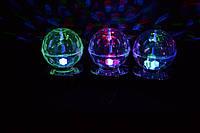 Новогодний светодиодный шарик диско