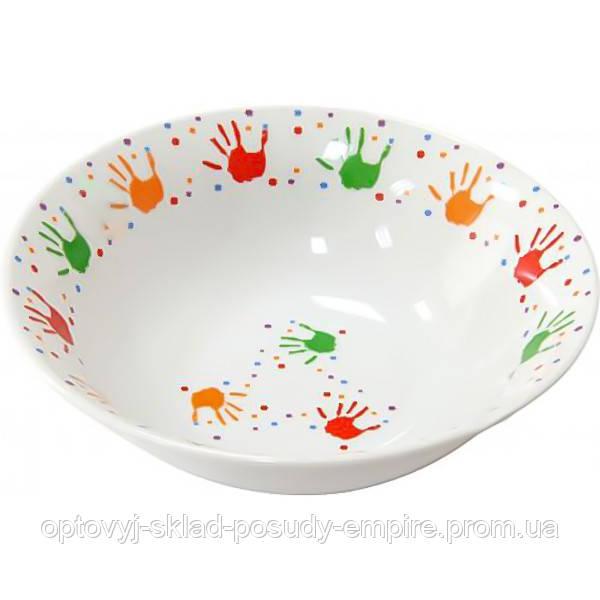 Milika Салатник керамический  Baby Handprint 15 см M0650-TH5938