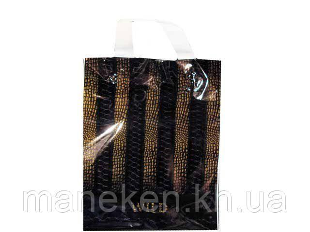 """Пакет ламінований з петлевою ручкою маленький """"Вайлд"""" (23х29) 50мк ДПА (50 шт)"""