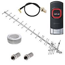 3G модем Pantech UML290 + антенна 17.5 дБ (дБи) + переходник + кабель