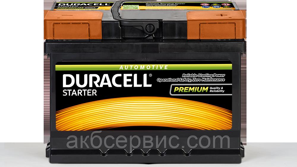 Аккумулятор автомобильный Duracell UK065 Starter (DS55)
