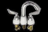 Кран врезной в борт ванной или умывальника, смеситель для гидромассажной ванны, (НХ-045 )