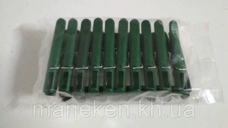 Прищіпка пластик 20шт мішок (1 уп.), фото 2