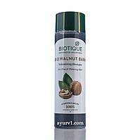 Шампунь для тонких и ослабленных волос Биотик / Biotique Bio Walnut Bark Shampoo/  190ML