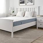 IKEA VAGSTRANDA Матрас, карманные пружины, средней жесткости, твердый/светло-голубой, 160x200 см (704.507.54), фото 2