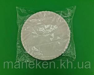 Тарелка бумажная белая D-25.5 см (50)*1 (50 шт), фото 2