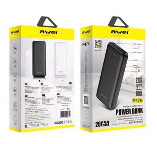 Power Bank Awei P70K 20000 mAh