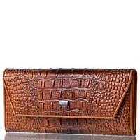 Жіночий шкіряний гаманець Wanlima 72042420166b1 Coffee, фото 1