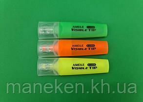 Текстовыделитель набор 3цвета (A-226A) (1 пач), фото 2