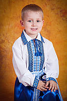 Сорочка вышитая для мальчика, размер 38