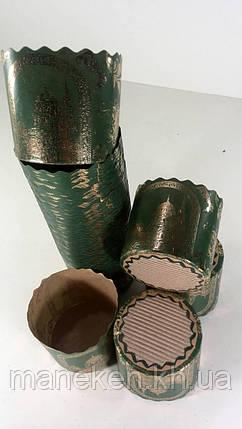 Формы для пасок (85*90) (маленькая) Золотые купала  (50 шт), фото 2