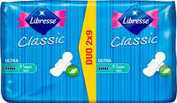 Прокладки Libresse Classic Ultra Super 5 капель 18 шт