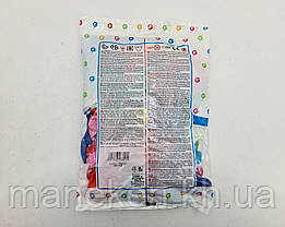 """Надувные шарики в форме сердца пастель ассорти 10"""" (25 см) 100 шт (1 пач), фото 3"""