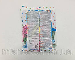 """Повітряні кулі Панч-Болл асорті пастель шовкографія 18"""" (45 см) 100 шт Gemar (1 пач.), фото 3"""