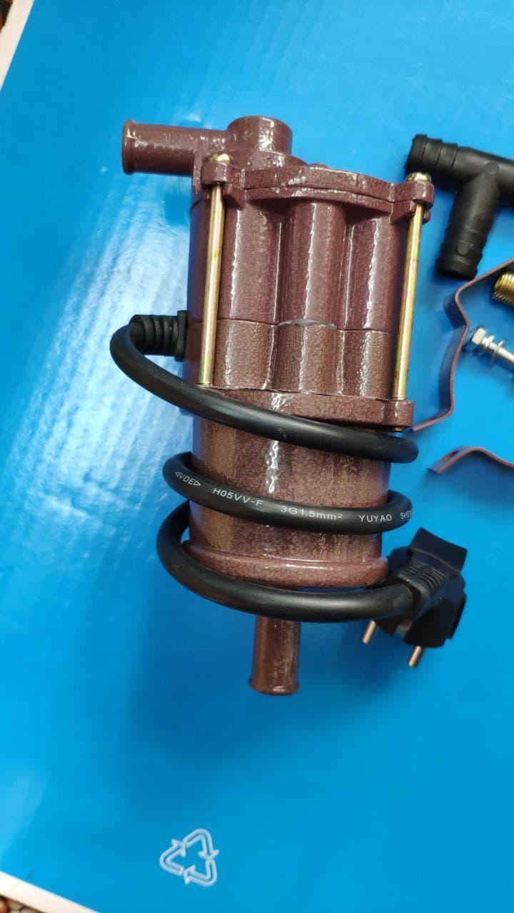Предпусковой подогреватель двигателя (охлаждающей жидкости) 220В 3кВт с помпой