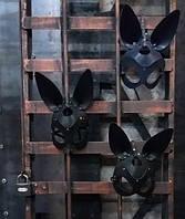 Маска зайца, ручная работа