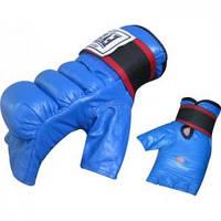 Снарядные боксерские перчатки кожаные Everlast