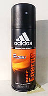 Adidas Deep Enerdgy дезодорант спрей для мужчин