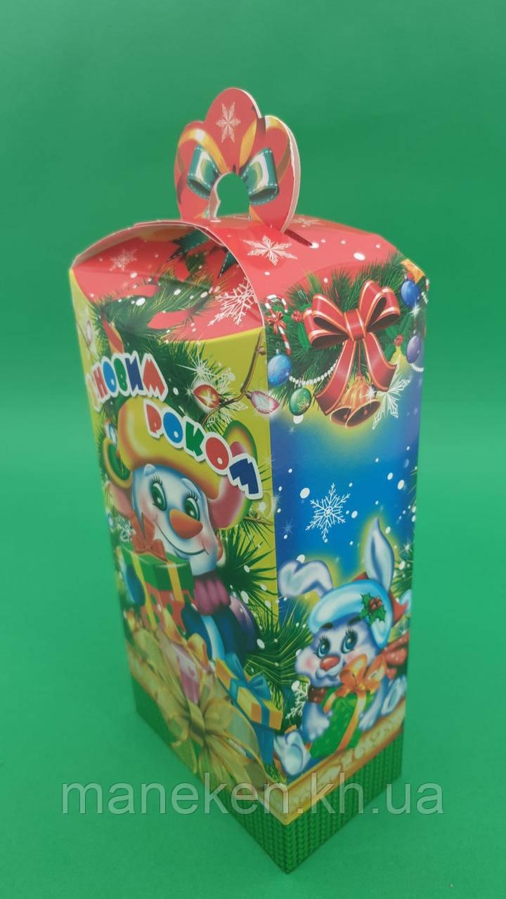 Новорічна коробка для цукерок №115(Каскад500) (25 шт)