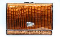 Жіночий шкіряний гаманець Wanlima 62041170430b1 Coffee, фото 1