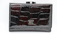 Женский кожаный кошелёк Wanlima w50040150430b1 Red/Black, фото 1