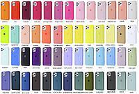 Чехол накладка Silicone Case iPhone 11